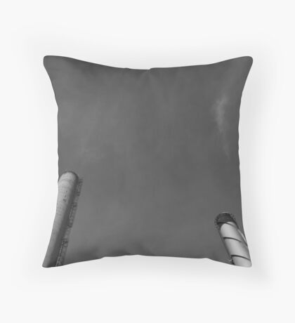 Paper Mill v.4 Throw Pillow