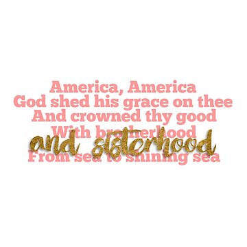 America the Beautiful by marydorotan