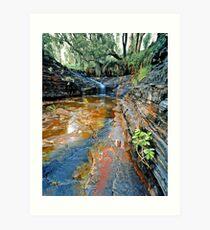 Kalamina Falls, Karijini NP Art Print