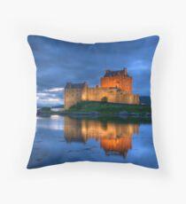 Eilean Donan Castle Throw Pillow
