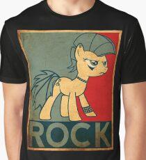 Brony Pony Rock Graphic T-Shirt