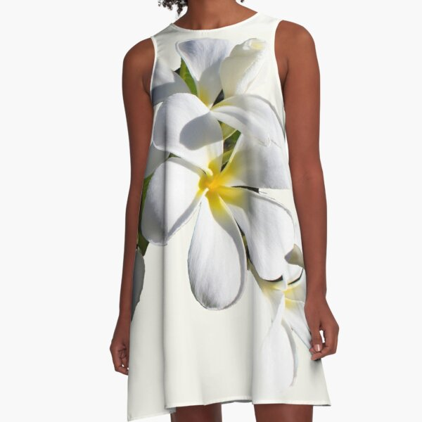 Frangipani A-Line Dress