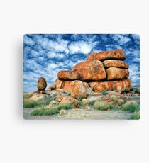 Devils Marbles, Northern Territory Canvas Print