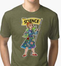 Hop on the Magic SChool Bus Tri-blend T-Shirt
