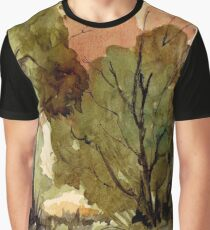 Black Wattle trees Graphic T-Shirt