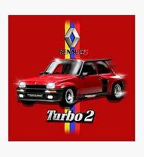Renault 5 Turbo2 By MotorManiac  Photographic Print