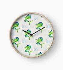 Deep Sea Dorado Clock