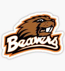 Oregon State Beavers Logo Sticker