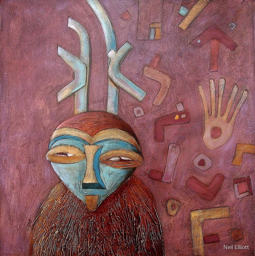 Antelope man by Neil Elliott