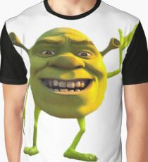 Shrek Mike Wazowski Graphic T-Shirt