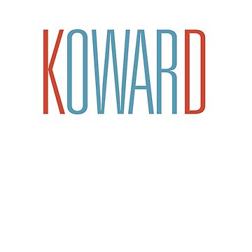 KOWARD shirt by ifrogtees