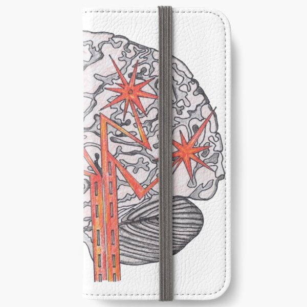 Brain Plasticity iPhone Wallet
