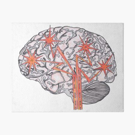 Brain Plasticity Art Board Print