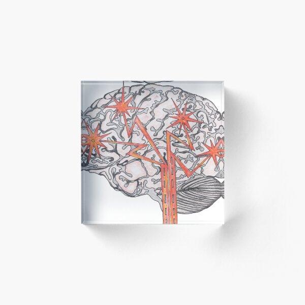 Brain Plasticity Acrylic Block