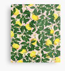 Lemonade II #redbubble #decor #buyart Metal Print