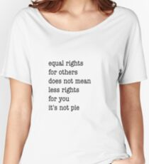 Equal Rights Women's Relaxed Fit T-Shirt