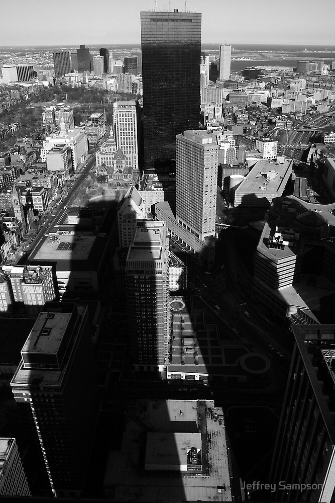 Boston Skyline by Jeffrey Sampson
