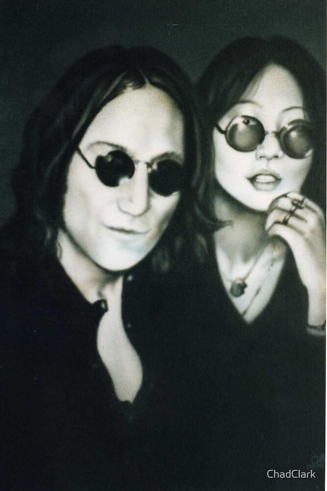 John Lenon and Mae Pang by ChadClark
