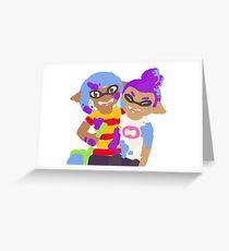 Splatoon - Squid Kids Greeting Card