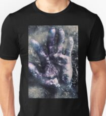 Zombie rising from a shallow grave Unisex T-Shirt