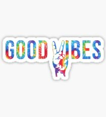 Good Vibes Peace Sticker