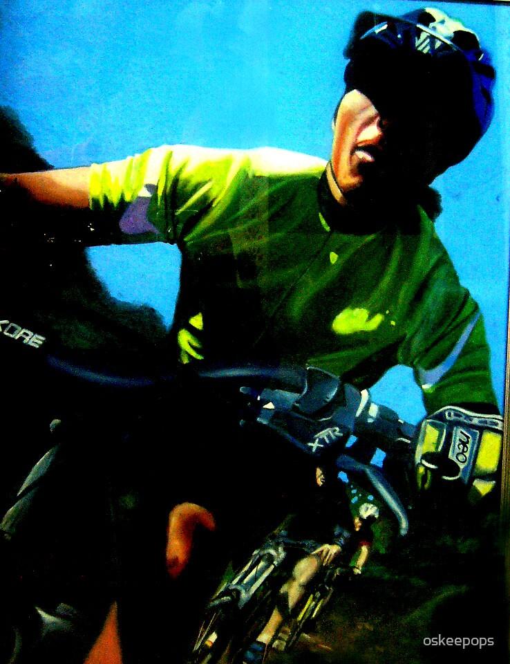 biker by oskeepops