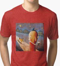 Pupacino Tri-blend T-Shirt
