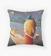 Pupacino Throw Pillow