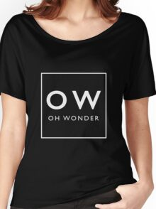 OW (black) Women's Relaxed Fit T-Shirt