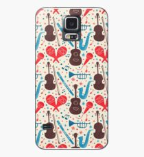 Music Instruments Pattern Case/Skin for Samsung Galaxy