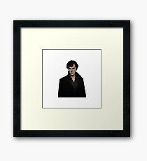 Sherlock Holmes/Benedict Cumberbatch Framed Print