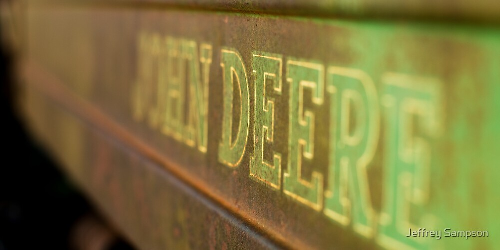 John Deere by Jeffrey Sampson