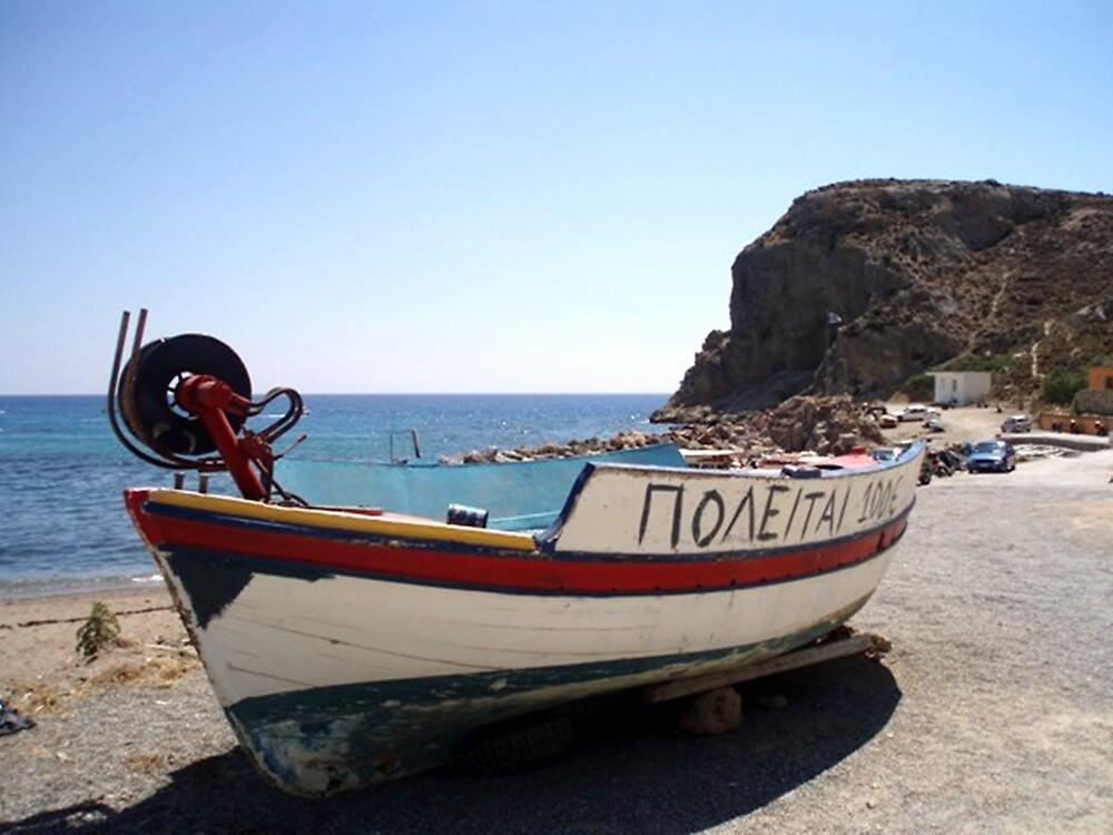 Boat for Sale, 100 Euro (Rodos, Greece) by Billy Andonaras