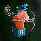 The number 2 fish wagon by Neil Elliott