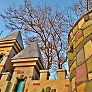 Colorful Castle Walls of Fairy Tale Forest by Jane Neill-Hancock