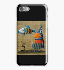 The number of the fish iPhone Case/Skin
