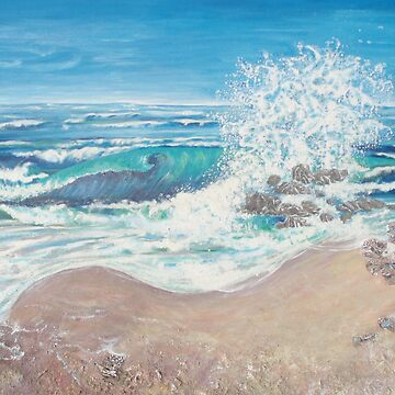 Surf & Rocks by beryl