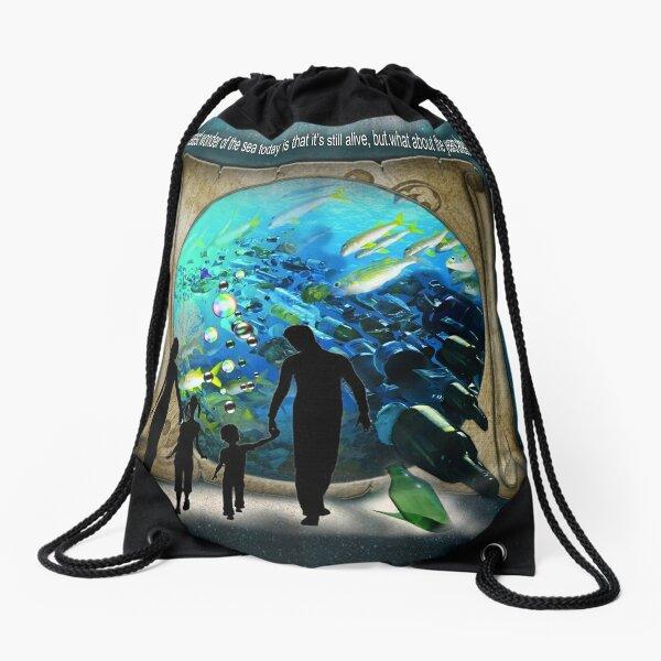 Aquarium visit in the Future?     Drawstring Bag