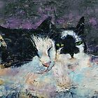 Two Cats by Michael Creese