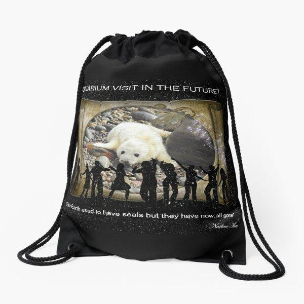 Baby Seal Drawstring Bag