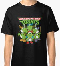 Yoshi Teenage Mutant Ninja Yoshis Classic T-Shirt