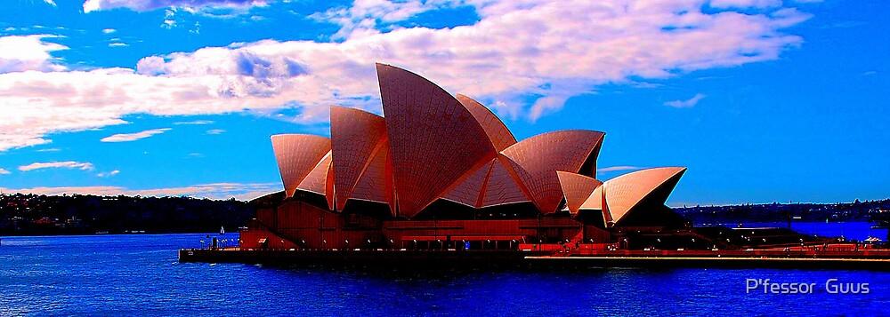 Sydney Opera House by P'fessor  Guus