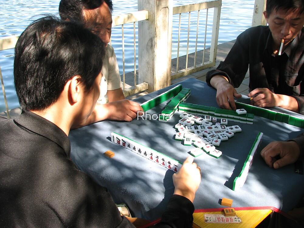 Mahjong by Rhona
