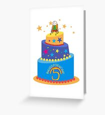 #HugsForNoah 5th Birthday Collection Greeting Card