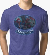 Conspiracy by Basement Mastermind Tri-blend T-Shirt