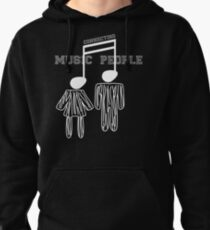 Music Connecting People Pullover Hoodie