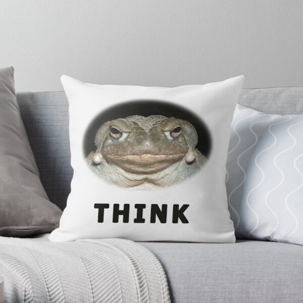 Intellektuelle Colorado River Toad Dekokissen