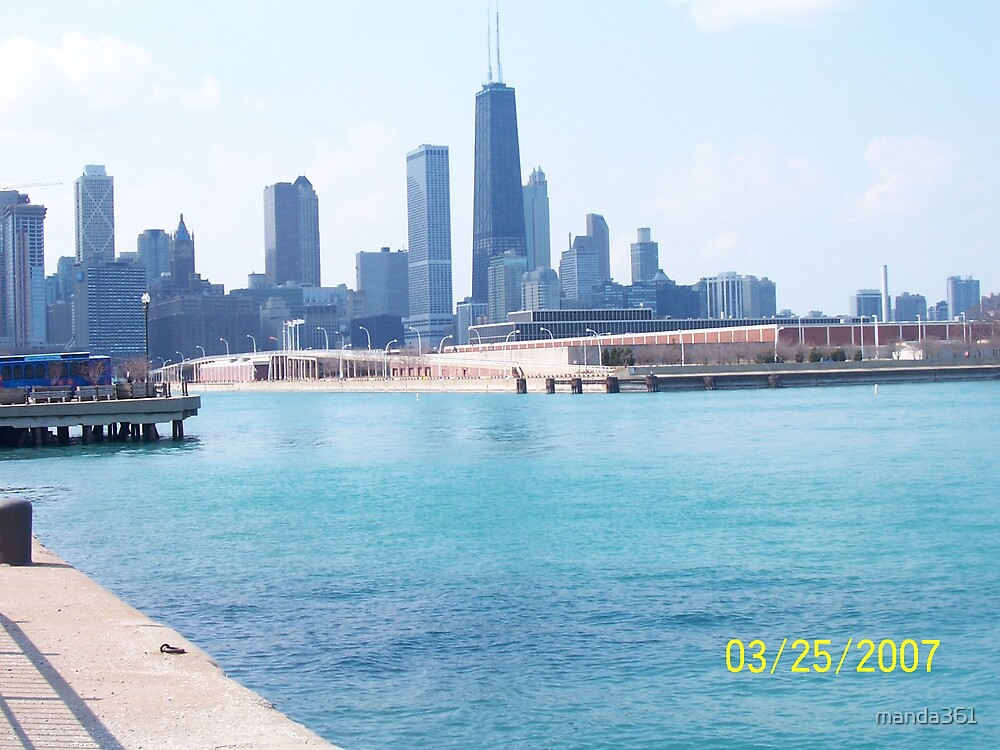 CHICAGO SKYLINE by manda361