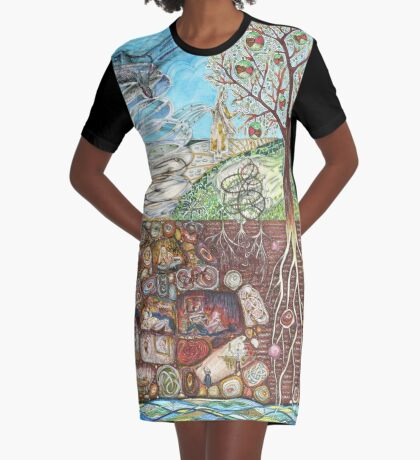 Parable of the Sower Graphic T-Shirt Dress