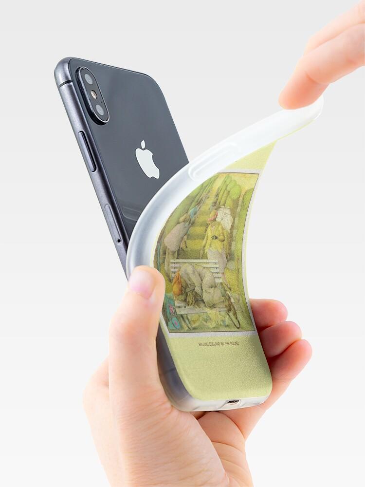 Alternative Ansicht von Genesis - England durch das Pfund verkaufen iPhone-Hülle & Cover